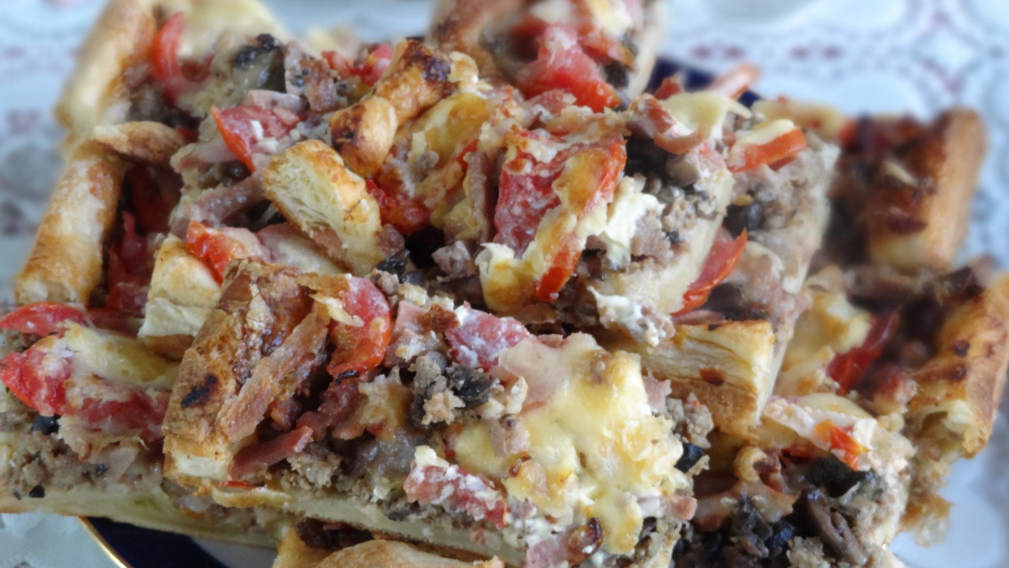 рецепт приготовления пиццы из дрожжевого теста