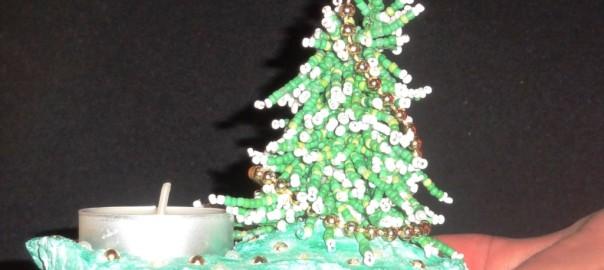 елка подсвечник