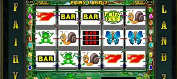 Новый игровой автомат в казино Вулкан Fairy Land